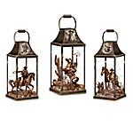 The John Wayne - Hollywood Luminary Fully-Sculpted Lantern Collection