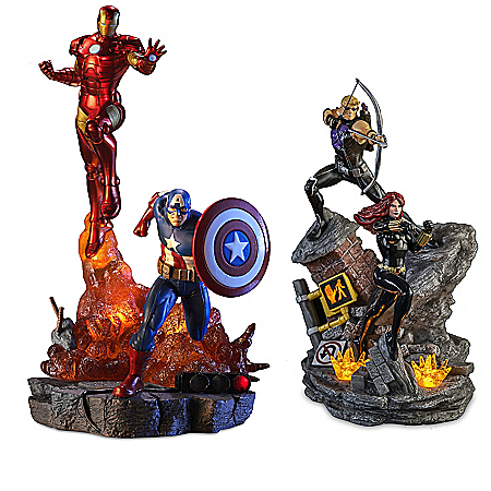 MARVEL Avengers Assemble Illuminated Sculpture Collection