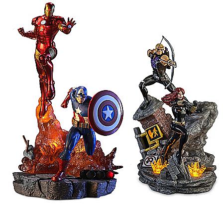 MARVEL Avengers Assemble Illuminated Sculpture Collection 904854
