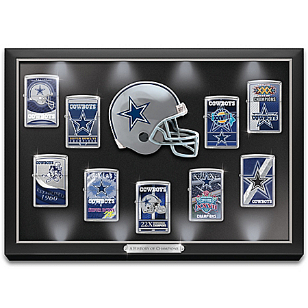 NFL Dallas Cowboys Zippo Windproof Lighter Collection