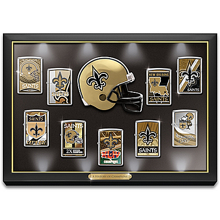 Legendary New Orleans Saints NFL Zippo® Lighter Collection