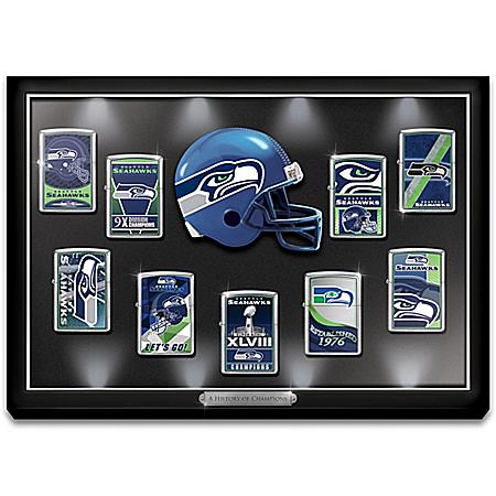 Legendary Seattle Seahawks NFL Zippo® Lighter Collection