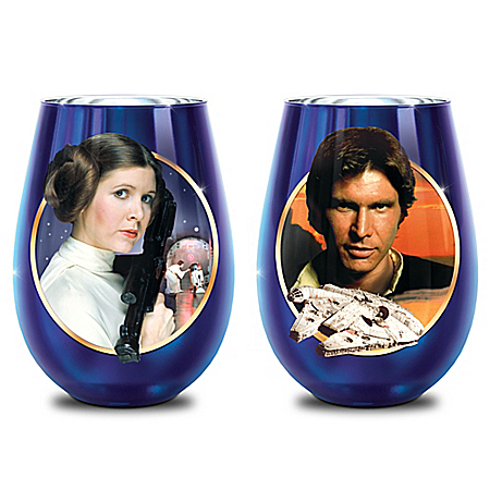 STAR WARS Triple-Fired Fine Glass Collection