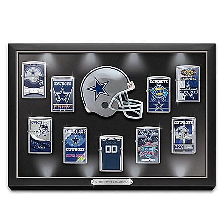 Dallas Cowboys Personalized NFL Zippo Lighter Collection