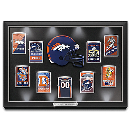NFL Denver Broncos Personalized Zippo Lighter Collection