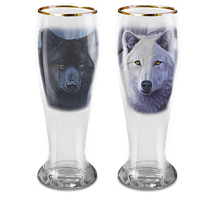 Brotherhood Of Wolves Pilsner Glass Collection