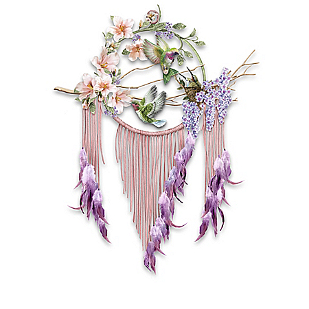 Enchanted Moments Hummingbird Dreamcatcher Wall Decor Collection