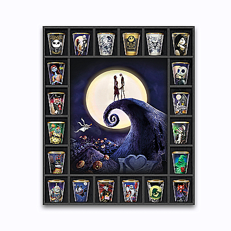 Disney Tim Burton's The Nightmare Before Christmas Toothpick Holder Collection