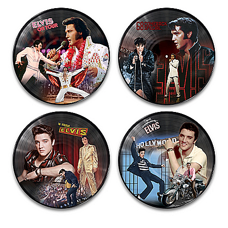 Elvis Presley Vinyl Record Revolution Wall Decor Collection