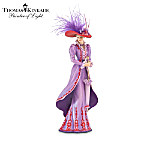 Thomas Kinkade Fancy Hatters Stylish Women Figurine Collection