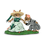 Charming Tails Gone With The Wind Mouse Figurine Collection: Gone With The Wind Collectibles