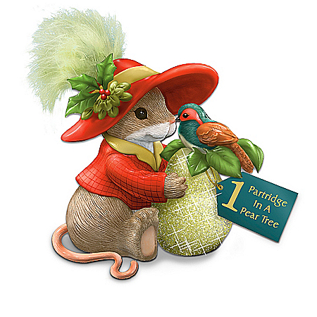 Charming Tails Twelve Days Of Christmas Mouse Figurine Collection