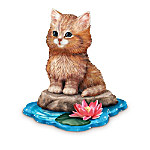 Jurgen Scholz Purr-fect Adventure Kitten Figurine Collection