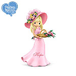 Precious Moments Breast Cancer Support Figurine Collection: The Promise Of Pink