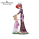 Thomas Kinkade A Grandmother's Love Lasts A Lifetime Figurine Collection