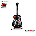 Dale Earnhardt 7-Time Champion Sculptural Guitar Figurine Collection