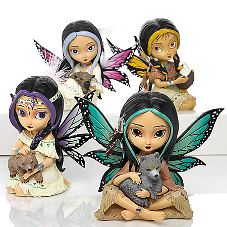 Jasmine Becket-Griffith's Spirit Maidens Fairy Figurine Collection