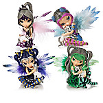 Jasmine Becket-Griffith Fairy And Unicorn Figurine Collection - Enchanting Companions