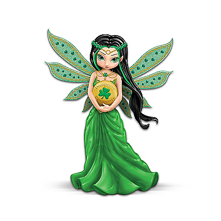Lucky Irish Charm Fairy Figurine Collection: Life Charms