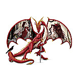 Fantasy Art Dragon Sculpture Figurine Collection: Guardians Of The Fairy Realms