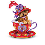 Yorkshire Terrier Figurine Collection: Flamboyant Personali-teas