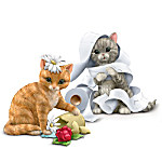 Little Cat-astrophies Kitten Figurine Collection: Sets Of Two :
