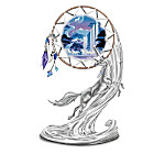 Unicorn Fantasy Art Dreamcatcher Figurine Collection: Mystic Dreams