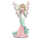 Bestow wishes for fortune, faith, peace and more - and express your hope for a cure - with a captivating collectible breast cancer support fairy figurine collection. Your collection begins with Issue One, Wishes for Hope. Soon, your collection continues with Issue Two, Wishes for Faith and Issue Three, Wishes for Love. Additional collectible breast cancer support fairy figurines, each a separate issue will follow.‡ A portion of the proceeds will be donated to help find a cure for breast cancer. Share the promise for a brighter tomorrow with these breast cancer support figurines, only from The Hamilton Collection. Each of the limited-edition fairy figurines in this collection comes with a FREE butterfly pin that matches the fairy's wings and bears a pink ribbon and message. Figurines are expertly handcrafted of artist's resin and hand-painted to capture enchanting details. Metallic paint and glitter add sparkling accents. Strong demand is expected, and you won't want to miss out. Order now!