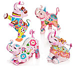 Margaret Le Van Pink Elephant Breast Cancer Support Figurine Collection