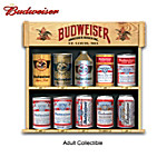 Ultimate Budweiser Replica Beer Can Tabletop Collection: From 1936 To 2009
