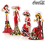The Pretty Ladies Timeless Refreshment Of COCA-COLA Figurine Collection