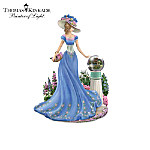 Thomas Kinkade Ladies Of The Garden Figurine Collection