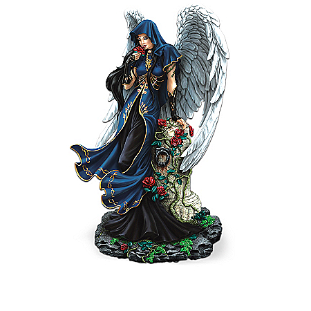 """Twilight Garden"" Fantasy Angel Figurine Collection"