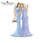 Thomas Kinkade Angels Of Sisterly Love Figurine Collection