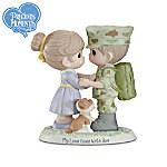 Precious Moments All-American Hero Marine Figurine Collection