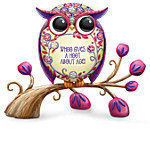 Challis & Roos Owl-Isms To Aging Figurine Collection