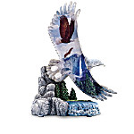 On Freedoms Wings Bald Eagle Collectible Figurine Collection