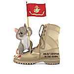 Charming Tails USMC Figurine Collection: Tails Of Honor