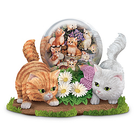A Fun Finale With Friends Kitten Figurine Collection