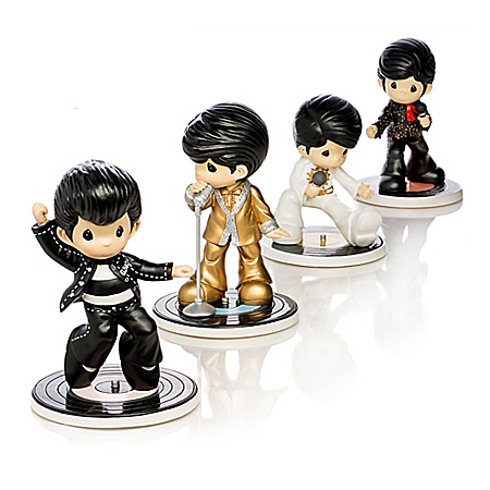 Precious Moments Elvis Presley Figurine Collection: I Heart Elvis