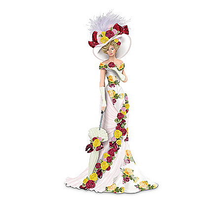 Ladies Of The Country Rose Garden Elegant Women Figurine Collection