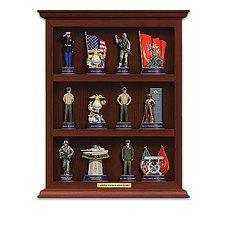 U.S.M.C. Curio Figurine Collection