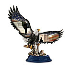 Pride Of The American Spirit Eagle Figurine Collection