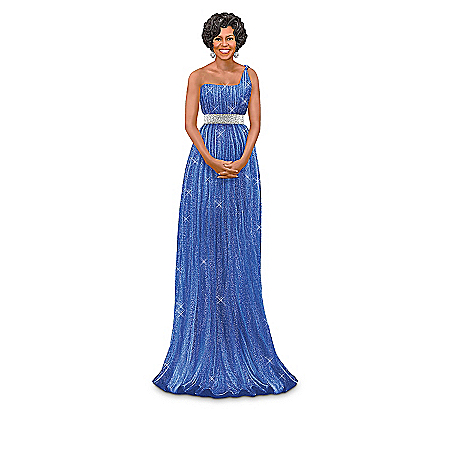 The Bradford Exchange Online - Michelle Obama, Fashionable First Lady Figurine Collection Photo