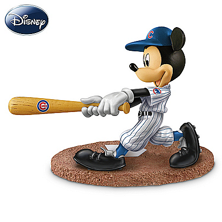 Disney Mickey Mouse & Friends Chicago Cubs All-Stars Figurine Collection