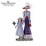 Thomas Kinkade A Grandmothers Love Lasts A Lifetime Figurine Collection