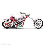MLB Angels Motorcycle Figurine Collection