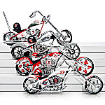 MLB Boston Red Sox Motorcycle Figurine Collection