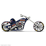 NFL Chicago Bears Motorcycle Figurine Collection