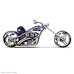 NFL New York Giants Motorcycle Figurine Collection